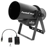 Chauvet Funfetti Shot Confetti Launcher Cannon Machine + Remote Wedding DJ Party